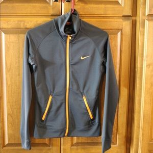 Nike Dryfit full zip sweatshirt